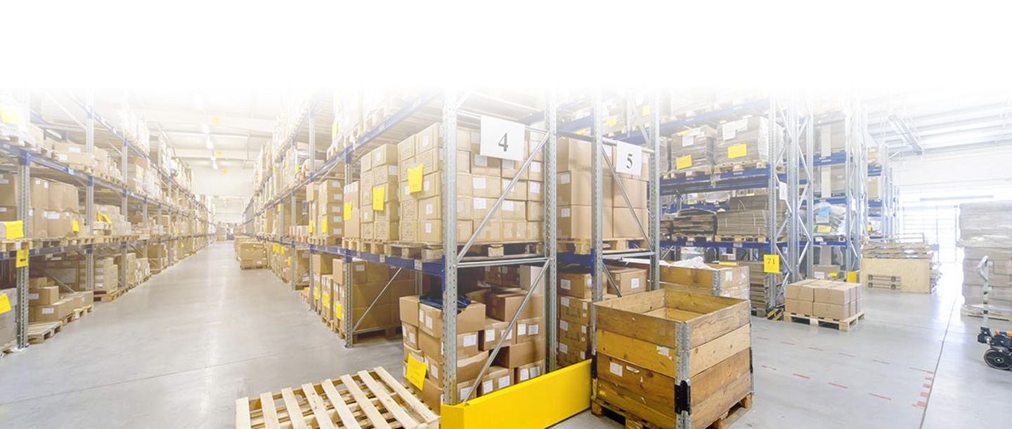 food packaging supplier warehouse
