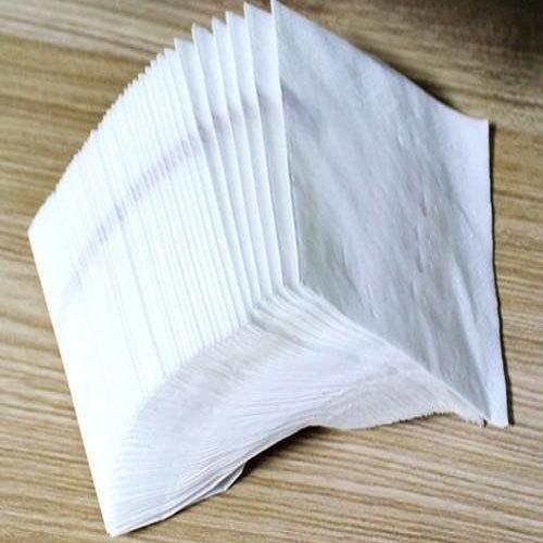 white paper serviette napkins